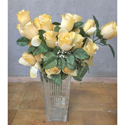 【中古】造花 バラ 幅300×奥行250×高さ580 【送料無料】【業務用】