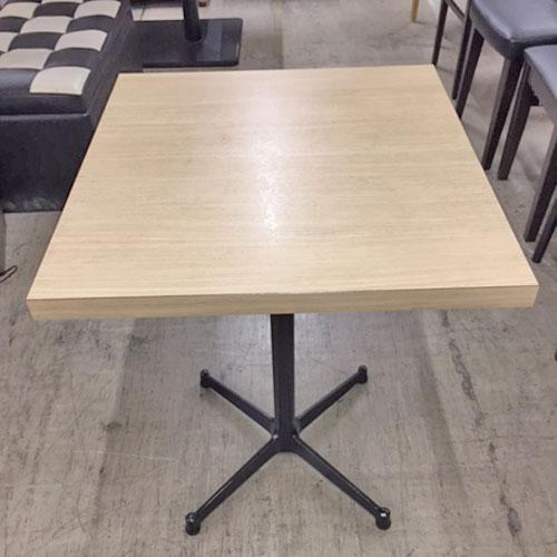 【中古】テーブル 幅550×奥行600×高さ700 【送料別途見積】【業務用】