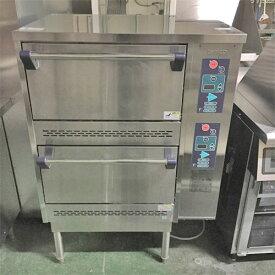 【中古】立体炊飯器 タニコー TGRC-2S 幅785×奥行702×高さ1115 LPG(プロパンガス) 【送料無料】【業務用】