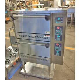 【中古】立体炊飯器 タニコー TGRC-2DT 幅785×奥行702×高さ1125 LPG(プロパンガス) 【送料無料】【業務用】