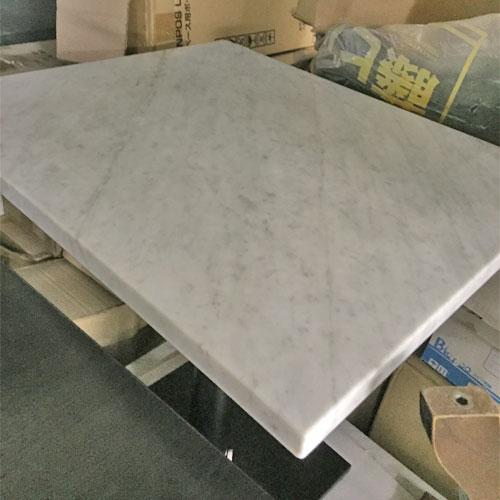 【中古】大理石テーブル 幅600×奥行700×高さ700 【送料無料】【業務用】