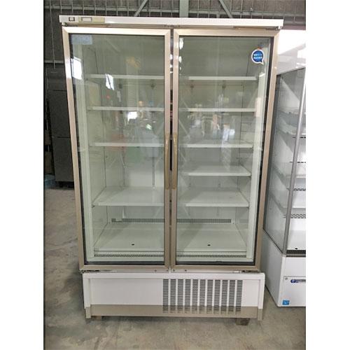 【中古】冷凍リーチインショーケース 富士電機リテイルシステムズ UEFG75AN-2ECM 幅1200×奥行850×高さ1975 三相200V 【送料別途見積】【業務用】