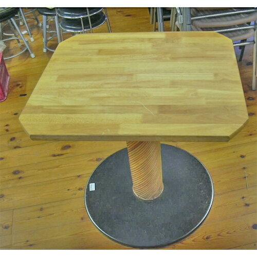 【中古】テーブル 幅745×奥行660×高さ695 【送料別途見積】【業務用】