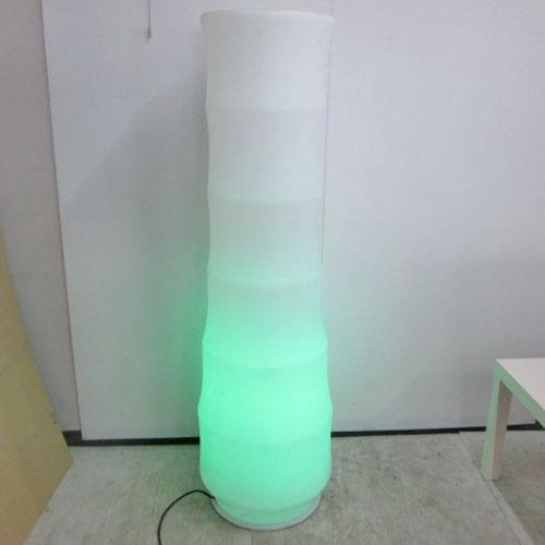 【中古】LED円柱照明 幅500×奥行500×高さ1510/業務用/送料別途見積