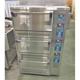 【中古】ガス立体炊飯器 タニコー TGRC-3DT 幅785×奥行702×高さ1285 LPG(プロパンガス) 【送料別途見積】【業務用】