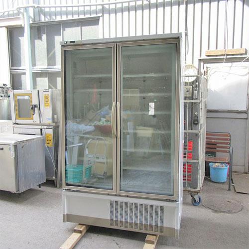 【中古】冷凍リーチインショーケース 富士電機リティルシステムズ UEFG-75AN-2ECM 幅1200×奥行850×高さ1975 三相200V 【送料別途見積】【業務用】