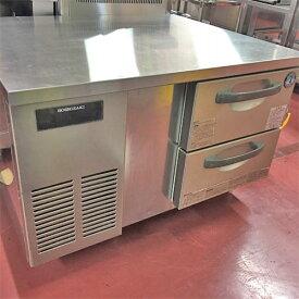 【中古】冷蔵ドロワーコールドテーブル ホシザキ RTL-90DDC-SYI 幅900×奥行750×高さ600 【送料無料】【業務用】