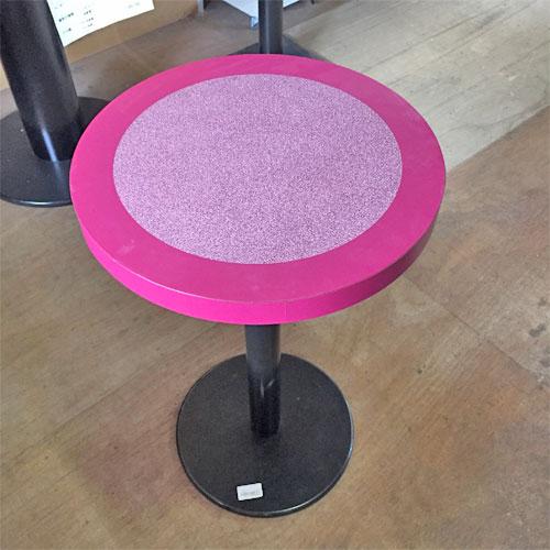 【中古】洋風テーブル 幅450×奥行450×高さ710 【送料別途見積】【業務用】