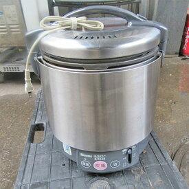 【中古】ガス炊飯器 リンナイ RR-S100VL 幅310×奥行390×高さ315 都市ガス 【送料無料】【業務用】