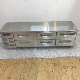 【中古】冷蔵ドロワーコールドテーブル ホシザキ RTL-165DNC 幅1600×奥行600×高さ500 【送料無料】【業務用】