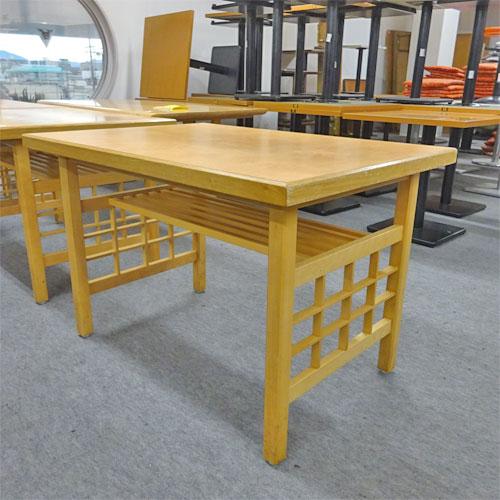 【中古】テーブル 幅1050×奥行750×高さ700 【送料別途見積】【業務用】