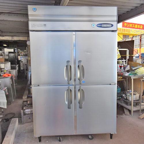 【中古】縦型冷凍冷蔵庫 ホシザキ HRF-120ZT 幅1200×奥行650×高さ1900 【送料別途見積】【業務用】