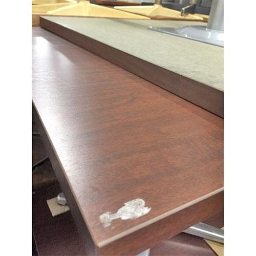 【中古】洋風テーブル 幅800×奥行800×高さ700 【送料無料】【業務用】