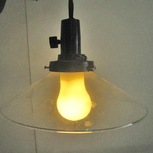 【中古】照明(ガラス) 大光 幅220×奥行220×高さ120 【送料別途見積】【業務用】