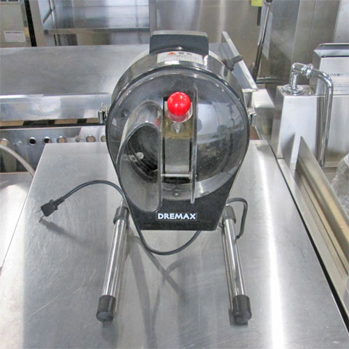 【中古】ネギカッター DREMAX DX-50M 幅220×奥行340×高さ370 【送料無料】【業務用】