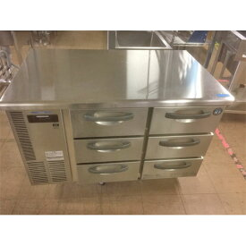 【中古】冷凍ドロワーコールドテーブル ホシザキ RT-120SDF-S 幅1200×奥行750×高さ800 【送料無料】【業務用】