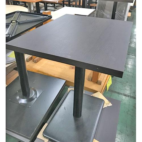 【中古】テーブルこげ茶 幅700×奥行500×高さ780 【送料無料】【業務用】