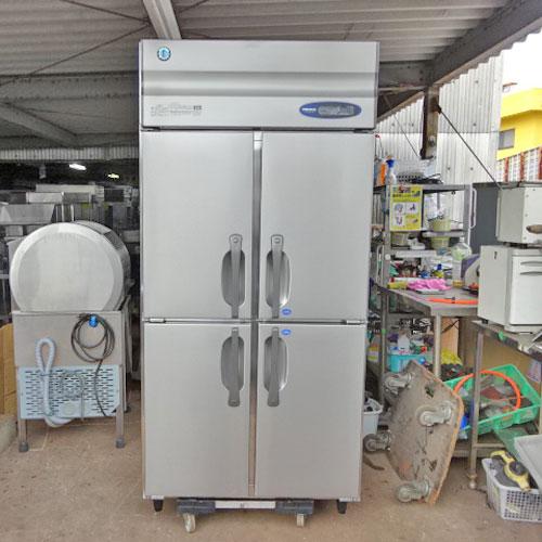 【中古】縦型冷凍冷蔵庫 ホシザキ HRF-90ZFT 幅900×奥行650×高さ1820 【送料別途見積】【業務用】