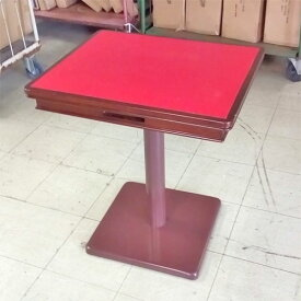 【中古】テーブル BR ワインレッド 幅550×奥行650×高さ720 【送料別途見積】【業務用】