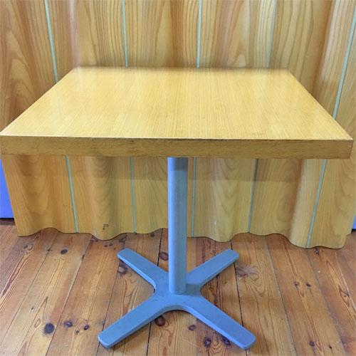 【中古】洋テーブル Xレッグ X脚 幅700×奥行650×高さ710 【送料別途見積】【業務用】