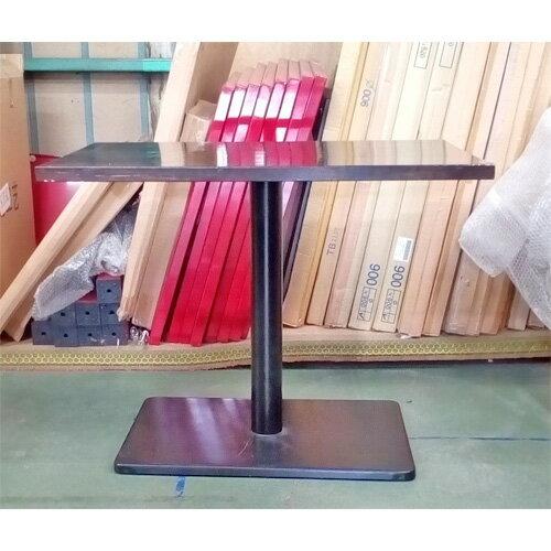 【中古】テーブル集成材 ブラウン 幅900×奥行600×高さ700 【送料別途見積】【業務用】
