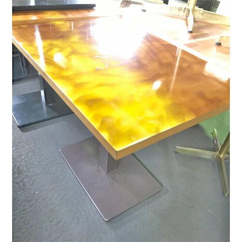 【中古】キャラメルテーブル 幅900×奥行750×高さ700 【送料別途見積】【業務用】