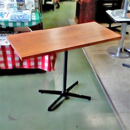 【中古】テーブル 幅1000×奥行450×高さ740 【送料別途見積】【業務用】