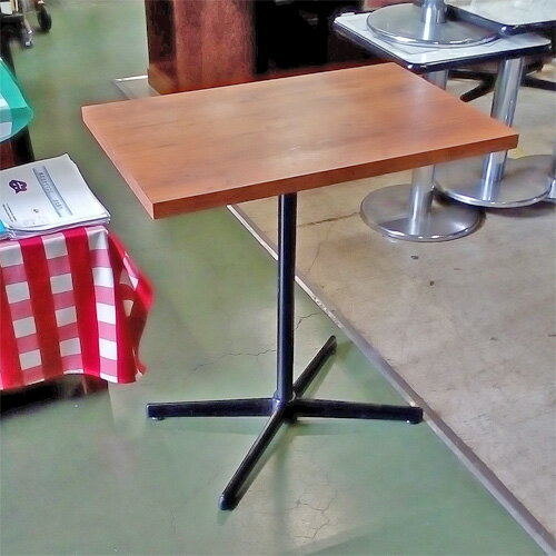 【中古】テーブル 幅700×奥行450×高さ740 【送料別途見積】【業務用】