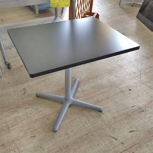 【中古】メラミン化粧版テーブル 幅600×奥行750×高さ640 【送料別途見積】【業務用】