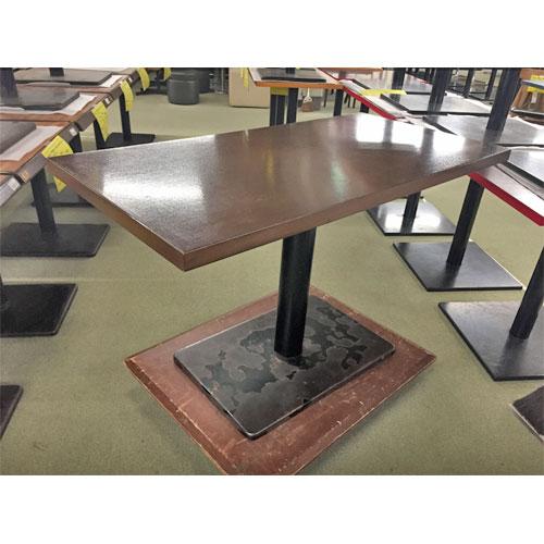 【中古】洋風テーブル 幅1200×奥行600×高さ730 【送料別途見積】【業務用】