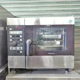 【中古】スチームコンベクションオーブン ホシザキ MIC-5TA3 幅750×奥行560×高さ685 三相200V 【送料別途見積】【業務用】