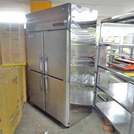 【中古】縦型冷凍冷蔵庫(2対2) ホシザキ HRF-120SFT3 幅1200×奥行650×高さ1900 三相200V 【送料別途見積】【業務用】