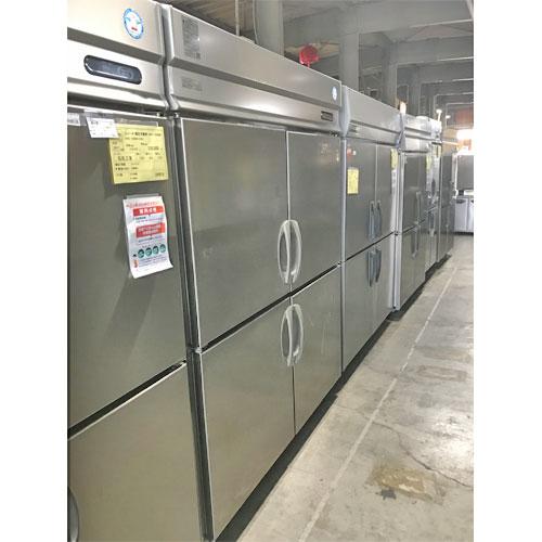 【中古】4ドア冷凍冷蔵庫(2/2) 福島工業(フクシマ) URD-152PMD6 幅1500×奥行800×高さ1950 三相200V 【送料別途見積】【業務用】