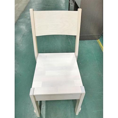 【中古】木製イス 家庭用 IKEA 幅350×奥行415 【送料別途見積】【業務用】