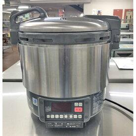 【中古】ガス炊飯器 リンナイ RR-S20VG 幅451×奥行378×高さ452 都市ガス 【送料無料】【業務用】