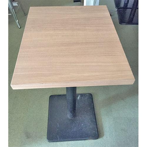 【中古】ハイテーブル 幅450×奥行550×高さ950 【送料別途見積】【業務用】