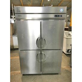 【中古】縦型冷凍冷蔵庫 福島工業(フクシマ) ARN-121PMD 幅1200×奥行650×高さ1900 三相200V 【送料無料】【業務用】