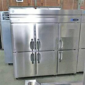 【中古】縦型冷凍冷蔵庫 ホシザキ HRF-180ZF3 幅1800×奥行800×高さ1890 三相200V 【送料別途見積】【業務用】