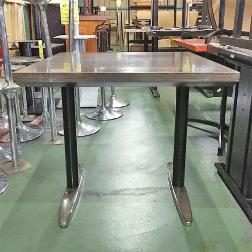 【中古】テーブル 小 幅750×奥行750×高さ670 【送料無料】【業務用】