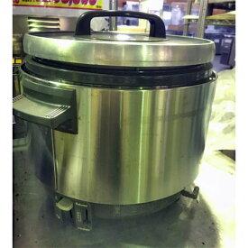 【中古】ガス炊飯器 パナマ PR-360SS 幅455×奥行381×高さ372 都市ガス 【送料別途見積】【業務用】