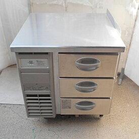 【中古】冷凍ドロワーコールドテーブル 福島工業(フクシマ) YDW-083FM2 幅770×奥行750×高さ800 【送料別途見積】【業務用】