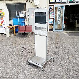 【中古】電子看板 (リモコン付き) TOWA DS-FL419S 幅590×奥行650×高さ1690 【送料無料】【業務用】