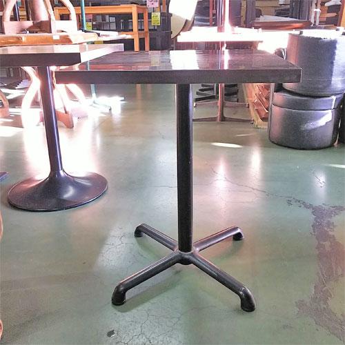 【中古】テーブル ブラウン 幅550×奥行600×高さ720 【送料無料】【業務用】