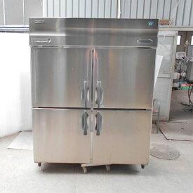 【中古】縦型冷凍冷蔵庫 ホシザキ HRF-150X3 幅1500×奥行800×高さ1890 三相200V 【送料別途見積】【業務用】