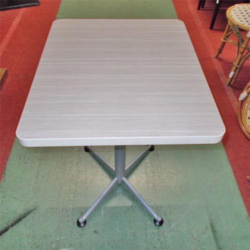 【中古】洋風テーブル 幅500×奥行600×高さ715 【送料別途見積】【業務用】