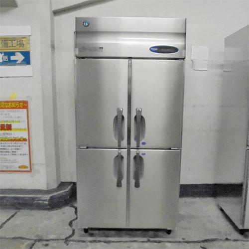 【中古】4ドア 冷凍冷蔵庫 ホシザキ HRF-90ZFT 幅900×奥行650×高さ1890 【送料別途見積】【業務用】