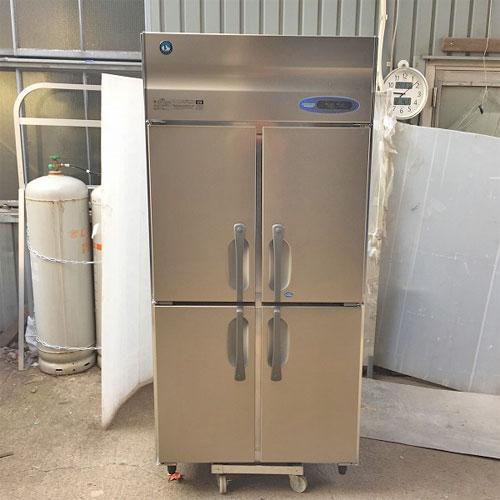 【中古】縦型冷凍冷蔵庫 ホシザキ HRF-90ZT 幅900×奥行650×高さ1890 【送料別途見積】【業務用】