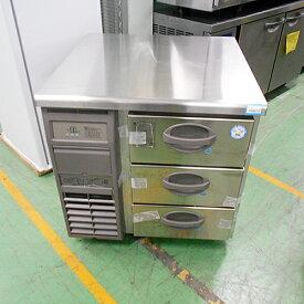 【中古】冷凍ドロワーコールドテーブル 福島工業(フクシマ) YDW-083FM2 幅755×奥行750×高さ800 【送料別途見積】【業務用】