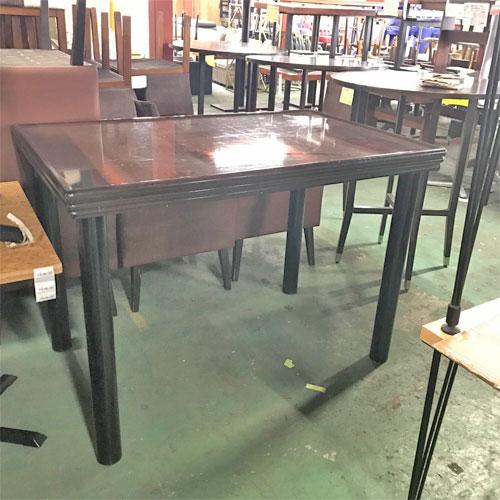 【中古】洋風テーブル 幅1290×奥行820×高さ900 【送料別途見積】【業務用】