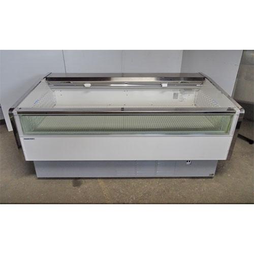 【中古】平型冷凍ショーケース パナソニック(PAnasonic) SCR-ES6000 幅1800×奥行900×高さ890 三相200V 【送料別途見積】【業務用】
